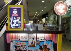 Quiosque para shopping - sucos ou sorvetes