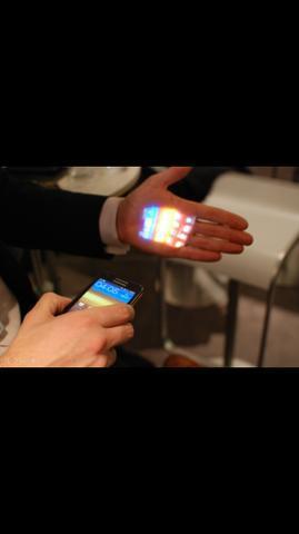 Sansung galaxy bean com projetor integrado, ótimo preço!