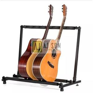 Suporte estante rack p/7 instrumentos baixo,violão,guitarra