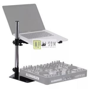 Suporte simples mesa p/ notebook,controladora,mixer,cdj,dj
