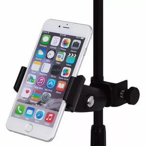 Suporte,clamp - universal p/celular,pedestal de microfone