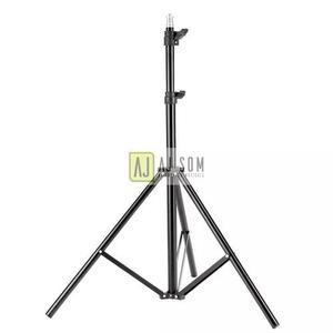 Tripé profissional c/rosca 1/4 -3 m-rebatedor,softbox,flash