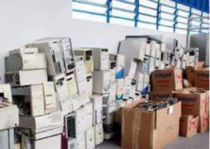 Coleta de lixos eletronicos