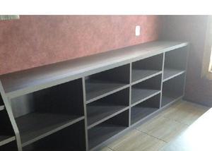 Vendo móveis usados para loja