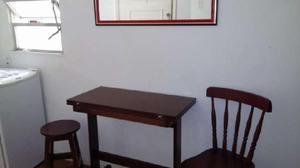 Apartamento com 1 quarto para alugar, 46 m² por r$
