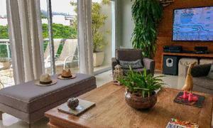Apartamento com 3 quartos para alugar, 155 m² por r$