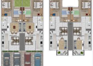 Apartamentos no santa regina, itajaísc