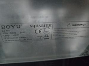 Aquário boyu zj 401 - de 40 litros para peixes