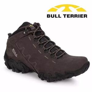 Bota bull terrier ranger couro natural original - casa aliel