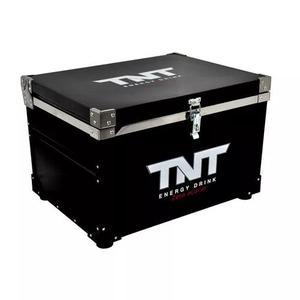 Caixa termica cooler blindada tnt 110 litros cabe churrasco