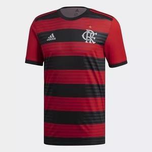 Camisa flamengo home 2018/2019 torcedor (personalizada+patch