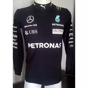 Camiseta Segunda Pele Mercedes Para Kart