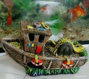 Decoração para aquário