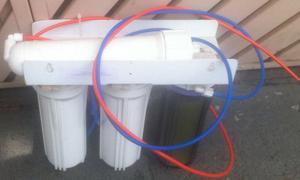 Filtro deionizador + ro (reverse osmose) 4 estagios