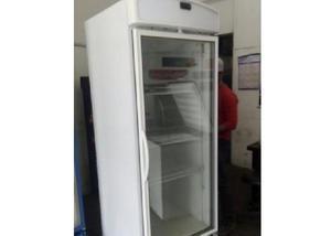 Freezer vertical gelopar 570l porta de vidro
