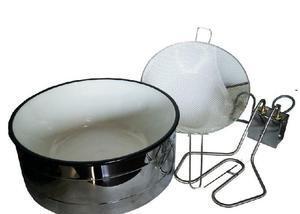 Fritadeira elétrica 7 litros 220v 300 graus - novo