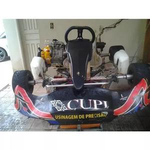 Kart e,motor rd 135 e peças 125