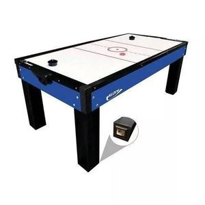 Mesa de aero hockey azul - klopf