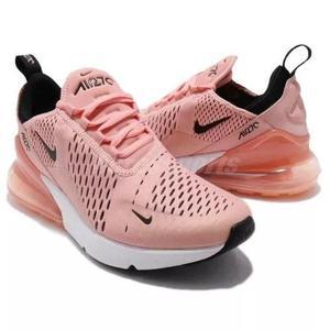 Nike air max gel bolha 270 rosa original f