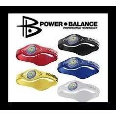 Original pulseiras power balance - lote com 3 unidades