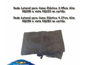 Rede de proteção colorida para cama elástica a partir