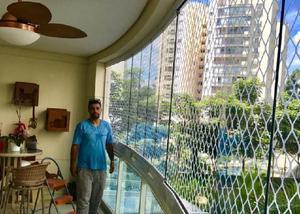Redes de proteção para janelas e sacadas