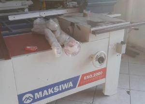 Serra esquadrejadeira makiswa usada esq2000