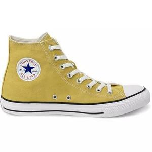 86a93cbab8 Tênis converse chuck taylor all star hi amarelo minerio