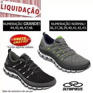 20d407ed6a0 Tênis masculino olympikus cyber 352 - 36 ao 44 45 46 47 48 em Brasil ...