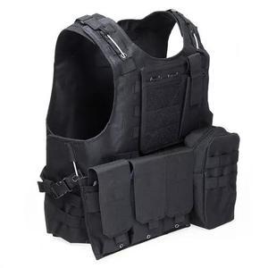 Tático militar swat campo combate assalto portador vest