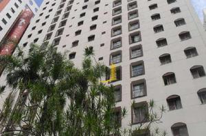 Apartamento com 1 quarto para alugar, 38 m² por r$
