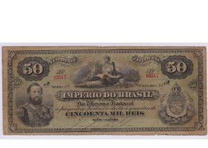 Compramos notas de réis do império pagamos até r$300 cada