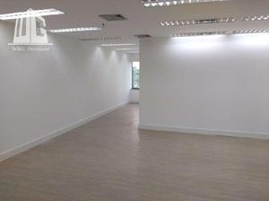Sala comercial para alugar, 84 m² por r$ 5.600/mês
