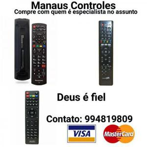 A Maior variedade de Controle remoto em Manaus