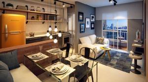 Apartamento com 1 quarto à venda, 39 m² por r$ 280.000