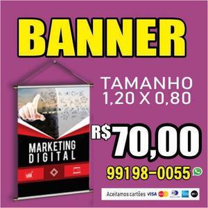Banner 1,20x0,80 promoção