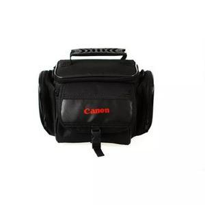 Bolsa case p/câmeras canon da linha eos rebel t6/t6i preta