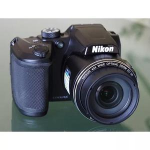 Camera nikon coolpix b500 brindes +32gb+bolsa+tripé