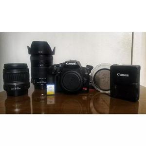 Canon eos rebel xs + lentes 18-55mm e 18-135mm + acessórios