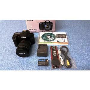 Câmera canon eos 50d + lente ef 28-135mm is completa
