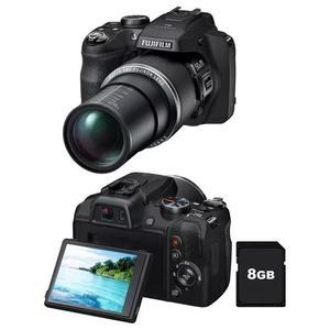 Câmera digital fujifilm finepix sl1000 preta 16mp
