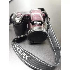 Câmera fotográfica nikon coolpix l840 ameixa wifi 16mp