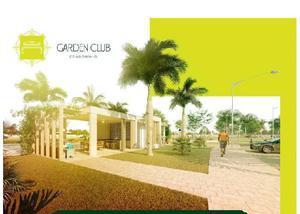 Condomínio garden club em anápolis go lotes a partir 240