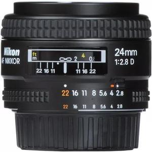 Lente nikon 24mm f 2.8d fx af nikkor garantia 1 ano nikon 37578fca63