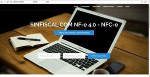 Sistema/software de emissor fiscal nota fiscal eletronica