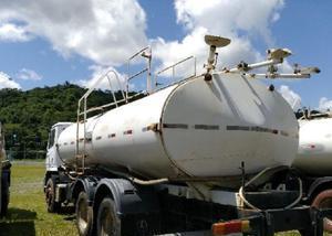 2 unidades mercedes-bens 2423 k 6x4 ano 2008 tanque pipa gas