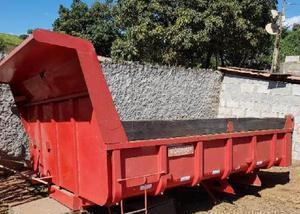Caçamba basculante para caminhão toco 4x2 ano 2014