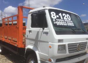 Caminhão carroceria de gas vw 8-120 ano 2004