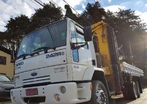 Ford cargo 2428 6x2 ano 20082008 munck 43.607 madal km