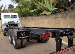 Mercedes-bens axor 3131 6x4 ano 2014 plataforma longo cami